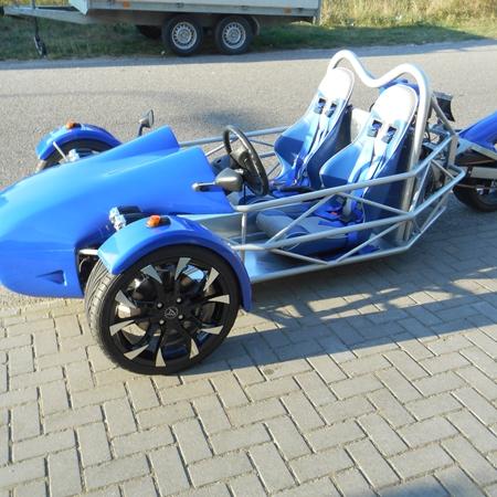 R1 of Hayabusa trike
