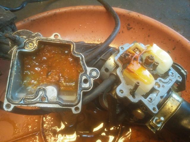 carburateur vervuild